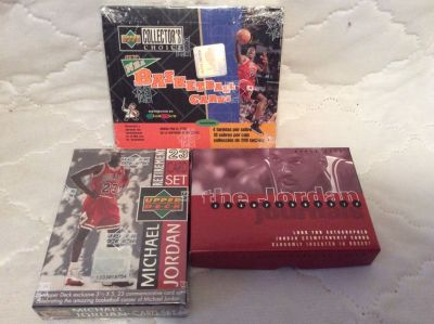 Cards: Michael Jordan Sets & Box