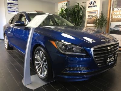 2017 Hyundai Genesis 3.8L (Blue)