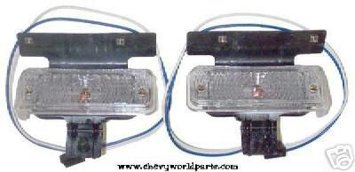 Purchase 69 CHEVELLE FRONT PARKING LIGHT HOUSINGS PAIR 1969 motorcycle in Bryant, Alabama, US, for US $119.00