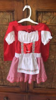 Like NEW Little Red Riding Hood (XS 3T-4T)