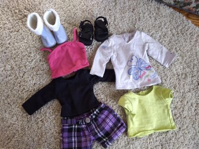"""Misc outfits 18"""" doll"""
