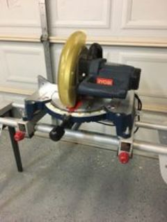 Compound Miter saw and stand