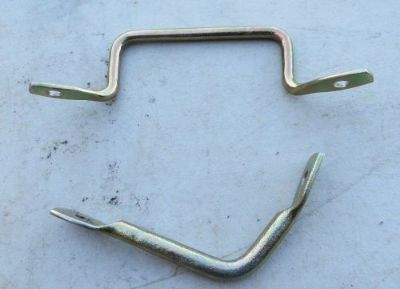 Purchase 1965 1966 or 1967 1968 Mustang Stripped Plated Hood Latch Safety Latch motorcycle in Richardson, Texas, United States, for US $8.55