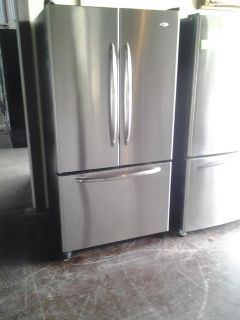 $455, Maytag 3dr Stainless Refrigerator