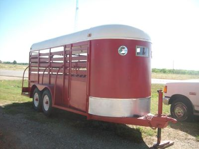 16 Ft Cattle Trailer-$3995