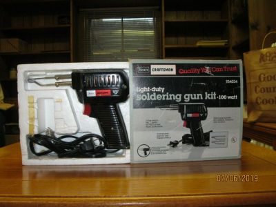 SEARS CRAFTSMAN SOLDERING GUN KIT