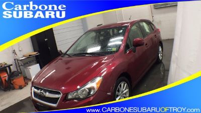2014 Subaru Impreza 2.0i Premium (Venetian Red Pearl)