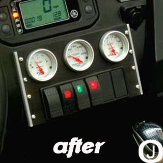 Find Yamaha Rhino Center Dash abs Blank Cover Plate for Mounting Gauges Black motorcycle in Elmwood Park, Illinois, United States, for US $13.95