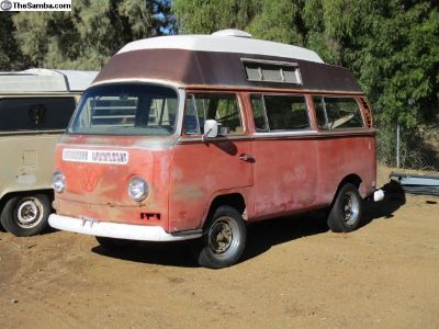 1970 VW Bus Camper Bubble Top