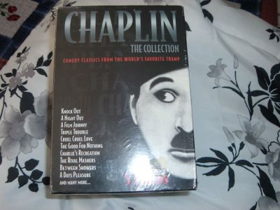 Charlie Chaplin VHS Tapes The collection Box Set vol.1-5/New