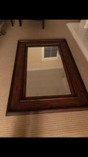 A large wall mirror nearly new