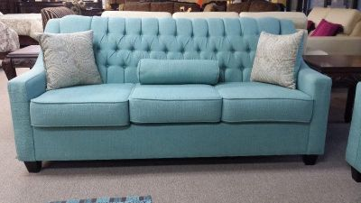 CUSTOM MAKE YOUR OWN SLEEK TUFTED CANADIAN MADE SOFA