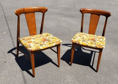 Mid-Century Modern Occasional or Dining Chairs.