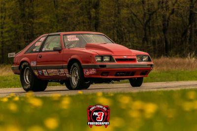 1985 Mustang - Big Tire