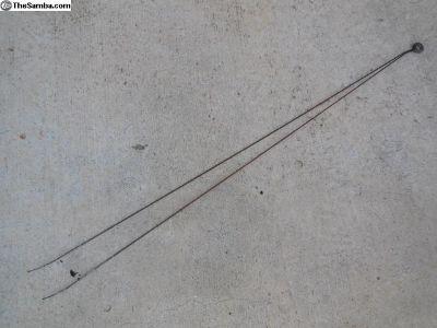 Porsche 356 Door Lock Pull Cables