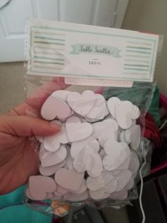 New! Table scatter