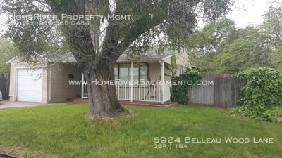 Refrigerator, Washer, Dryer, Large Backyard & Shed Included!