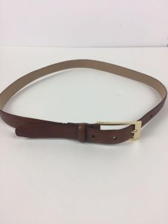 Alfani Brown Leather Belt size small women s