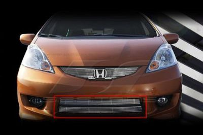 Buy SES Trims TI-CG-210B 09-11 Honda Fit Billet Grille Bar Grill Chromed motorcycle in Bowie, Maryland, US, for US $154.00
