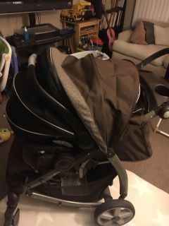 Graco Snugride 35 car seat and Stroller
