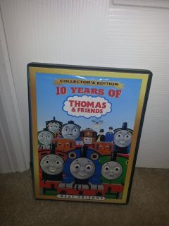 10 Years of Thomas & Friends: Best Friends dvd