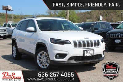 2019 Jeep Cherokee Latitude (Bright White Clearcoat - White)