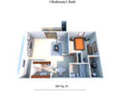 Four Worlds Apartments - One BR One BA
