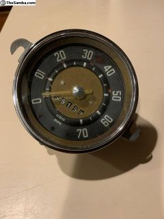 6/58 bus speedometer