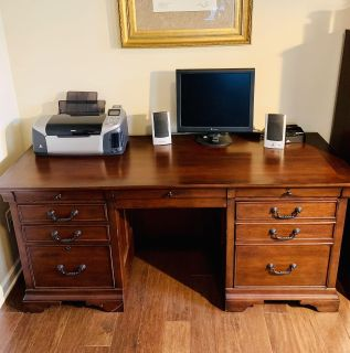 Gorgeous Real Wood Computer Desk