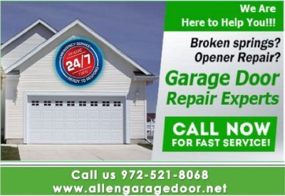 Specialist Garage Door Repair Service $25.95 | Allen, 75071 TX