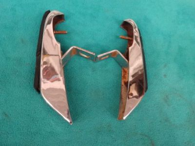 Find 1971-72 CHARGER FRONT BUMPER GUARDS, 1-PR, CLEAN & STRAIGHT, GREAT FOR RECHROME motorcycle in Stillwater, Minnesota, United States, for US $34.95