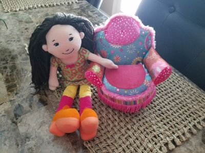 Groovy Girls Doll and Sofa Chair