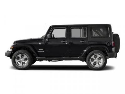 2017 Jeep Wrangler Unlimited Sahara (Black Clearcoat)