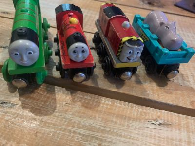 Lot of Thomas and Friends Trains - Salty, Hippo Car, Henry and extra the hippo car is the cutest!