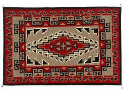 """$2,500 Navajo Weaving, 4'8' x 3'1"""", Alice Begay"""