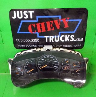 Purchase 00 02 Chevy Silverado GMC Sierra 2500 Speedometer Instrument Gauge Cluster 187K motorcycle in Lebanon, Maine, United States, for US $134.95