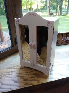 Armoire for American Girl or Journey Girl Doll