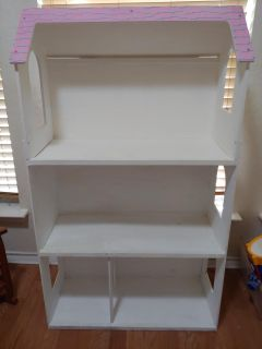 Doll House, about 4 ft x 3 1/2 ft.