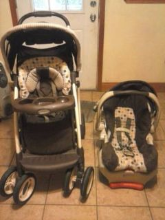graco infant carrier and stroller