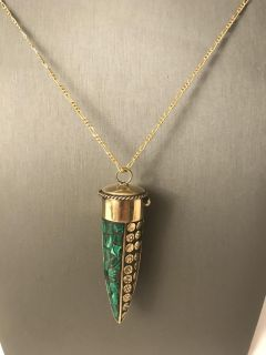 Stunning Horn Necklace