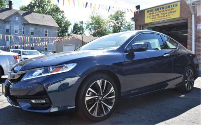2017 Honda ACCORD COUPE EX-L CVT (Deep Blue Opal Metallic)
