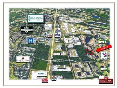 Fountain Tract-5.59 Acres-Wild Wing Development Tract-Land for Sale-Conway, SC.