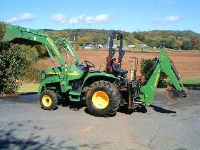 $2,590, John Deere 4210 Loader Backhoe 4wd 28hp diesel