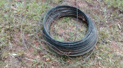 ROLL OF HIGH TENSILE WIRE