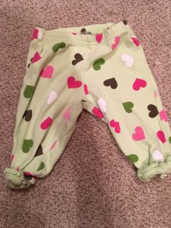 3-6 month carters pants