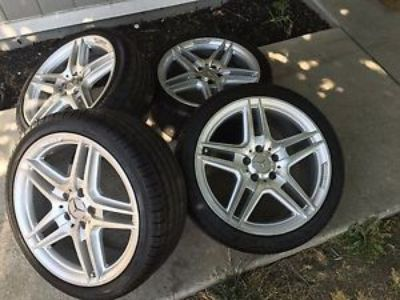 "Buy 2012 Mercedes Benz C350 18"" OEM AMG Wheels & Tires, Factory rims motorcycle in Sacramento, California, United States, for US $1,350.00"