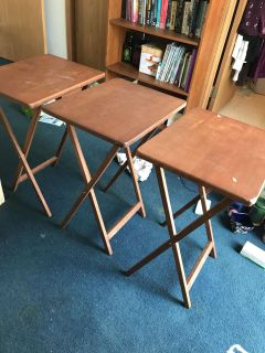 TV trays/tables