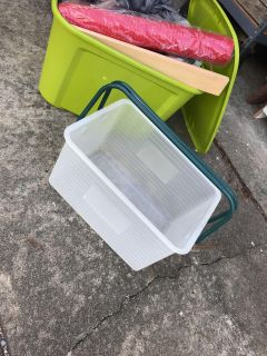 Very Sturdy Clear Tote with Sturdy Handles