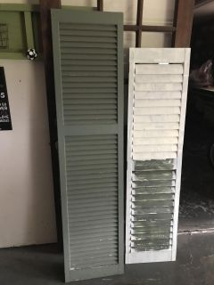 Shutters. Great for projects. $6 each