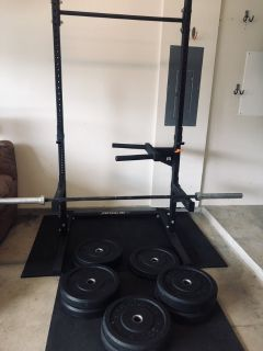 Rogue Crossfit Home Gym